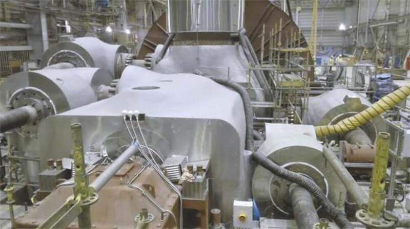 Izolacja turbin parowych - wykonawca Thermal - Tech