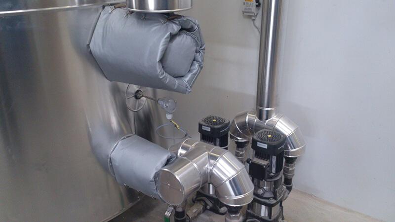 Materace termoizolacyjne - Projekt i wykonanie Thermal-Tech